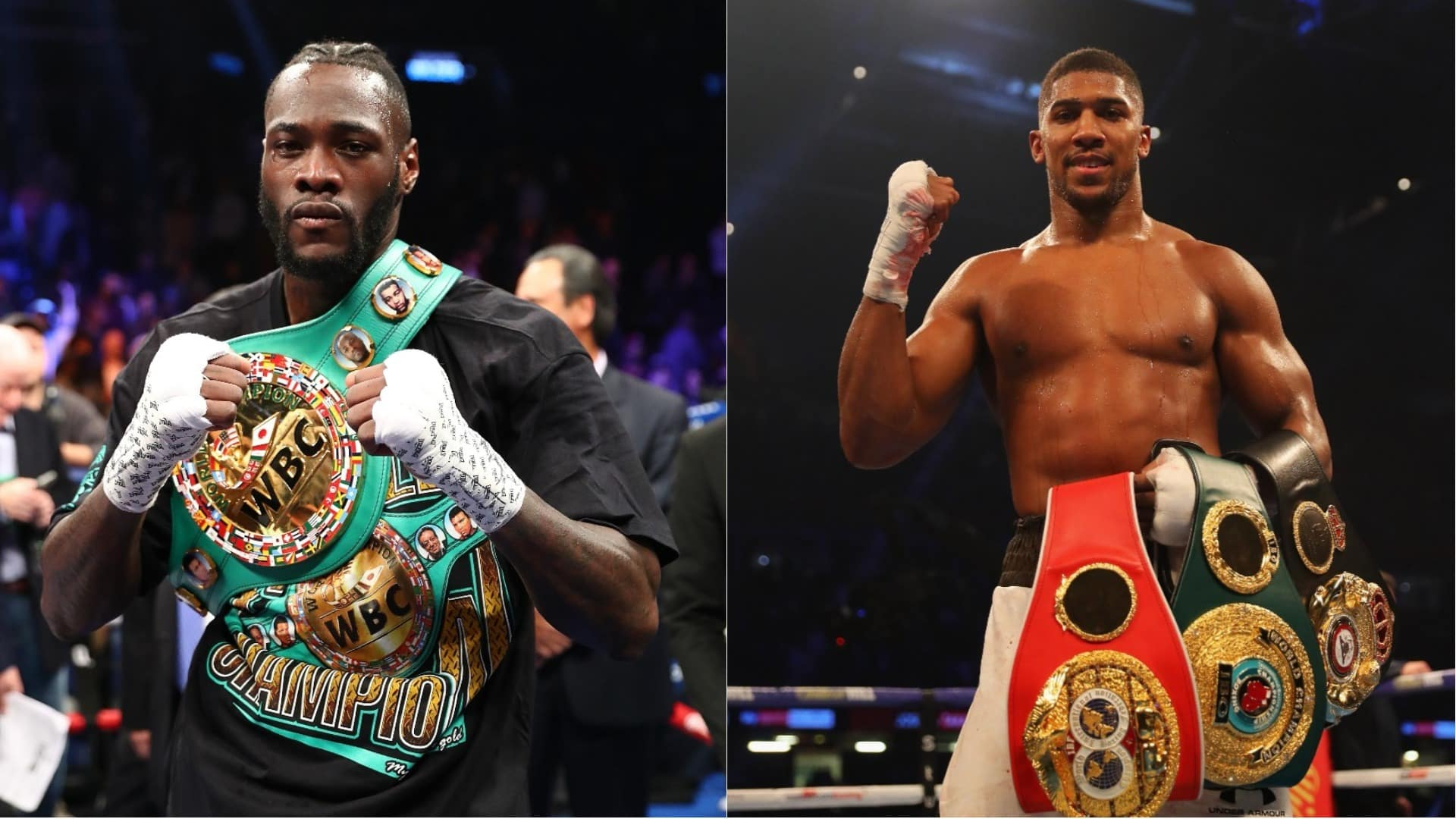 Deontay Wilder vs Anthony Joshua
