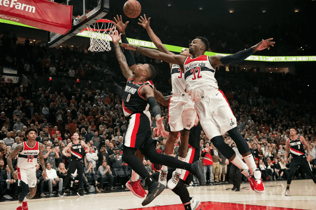 Otto Porter's block sends the Wizards to Oakland with a win