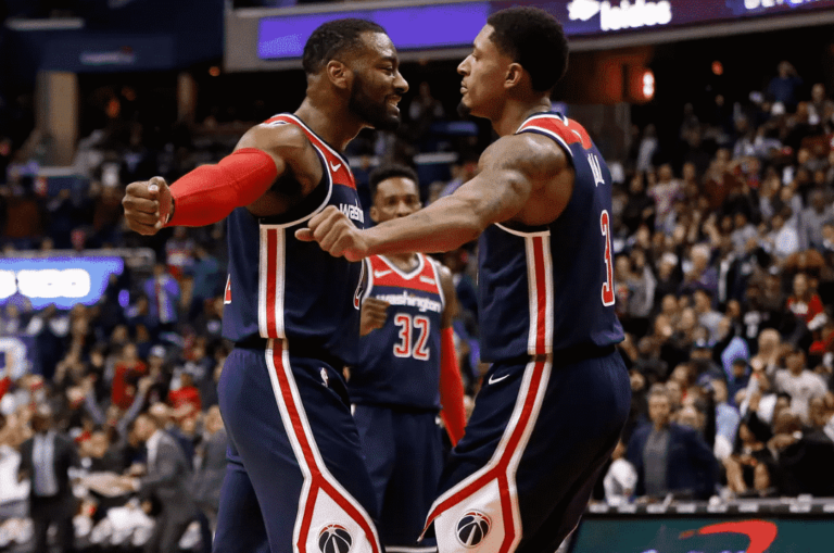 The energetic Wizards came to play in this one. Yo Washington, we did it!