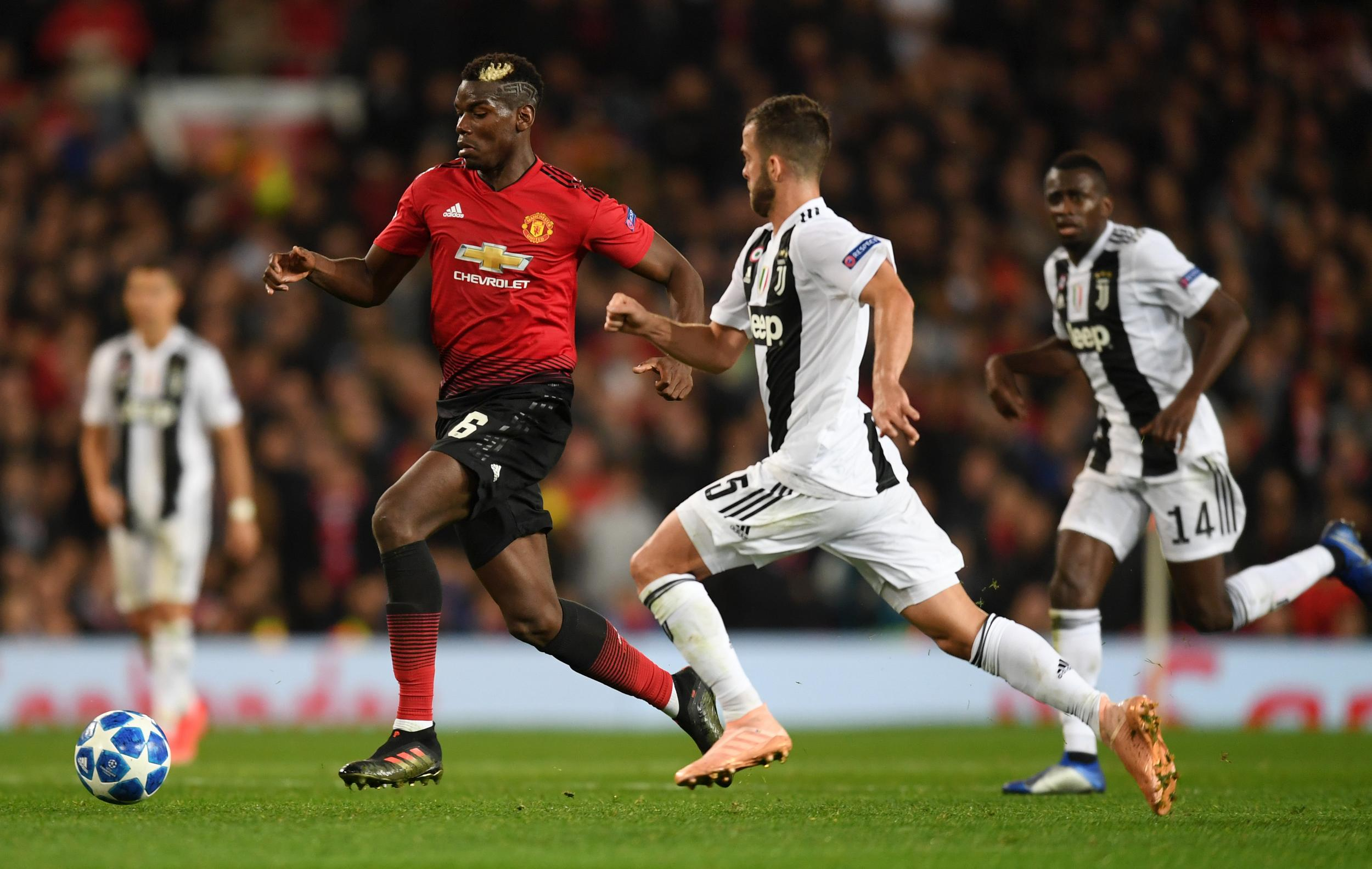 Juventus vs Man United