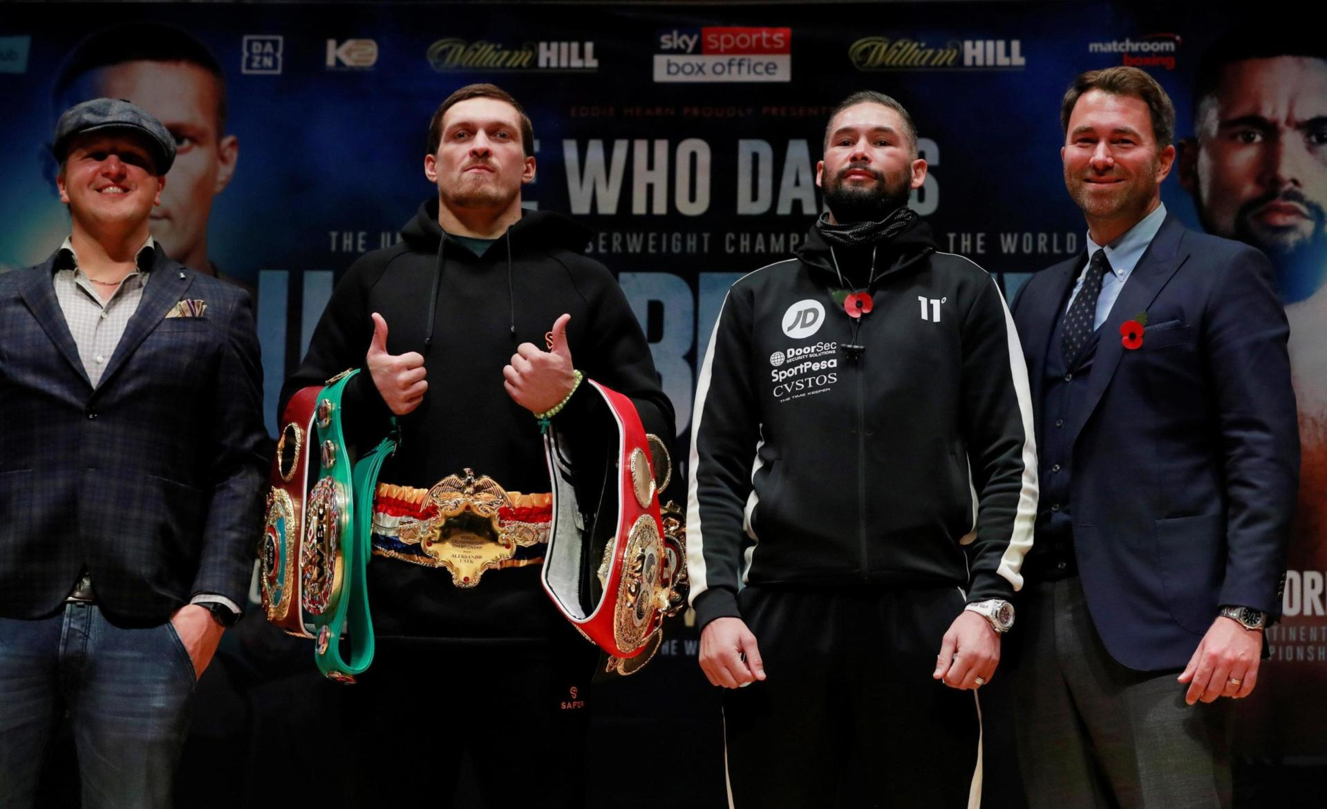 Usyk V Bellew Scaled