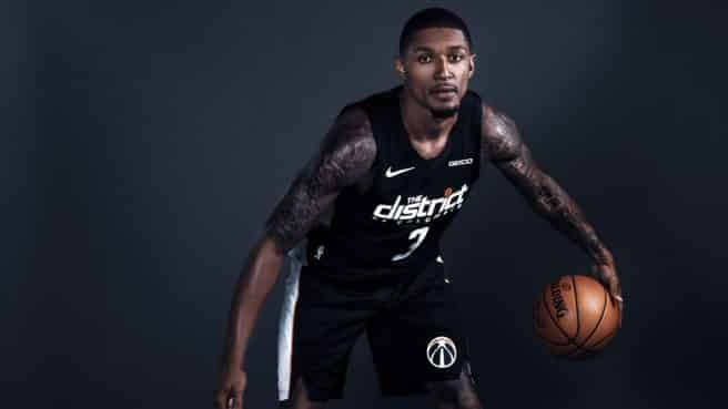 Howard and the rest of the Wizards will wear their black uniforms during certain games this season