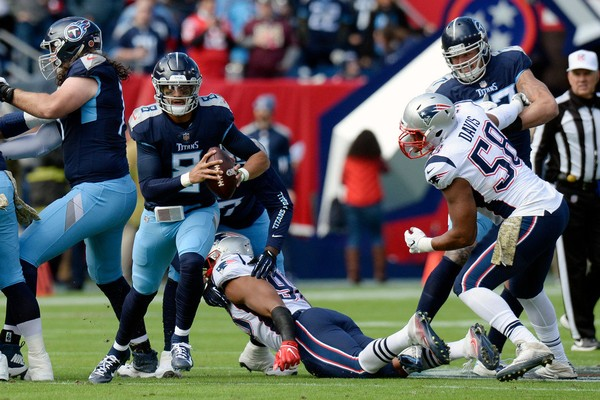 Titans Shock The Nfl Defeating The Patriots 34-10