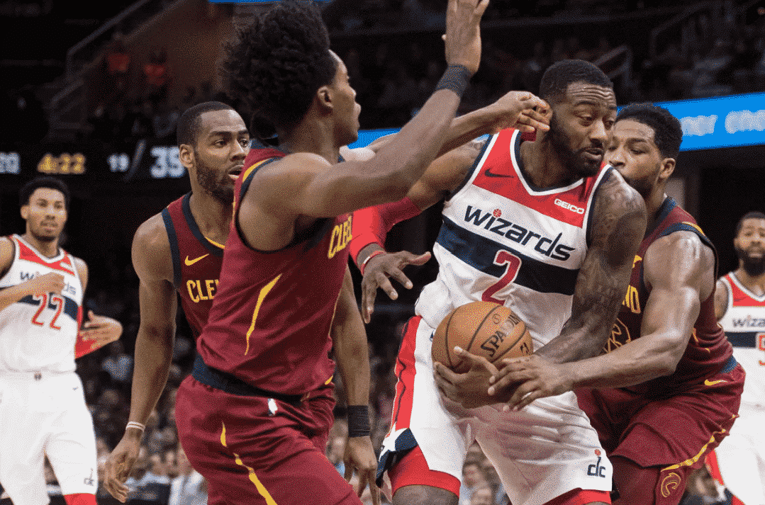 Lackadaisical Wizards get beat by the Cavs