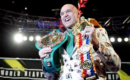 Tyson Fury A Tale Of Redemption