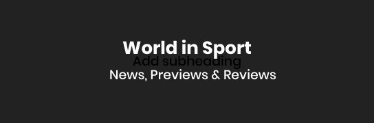 World in Sport