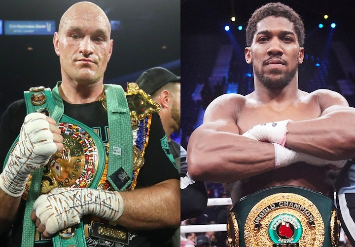 Anthony Joshua &Amp; Tyson Fury Agree Two-Fight Deal