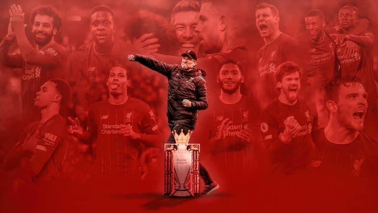 Livepool Premier League Champions