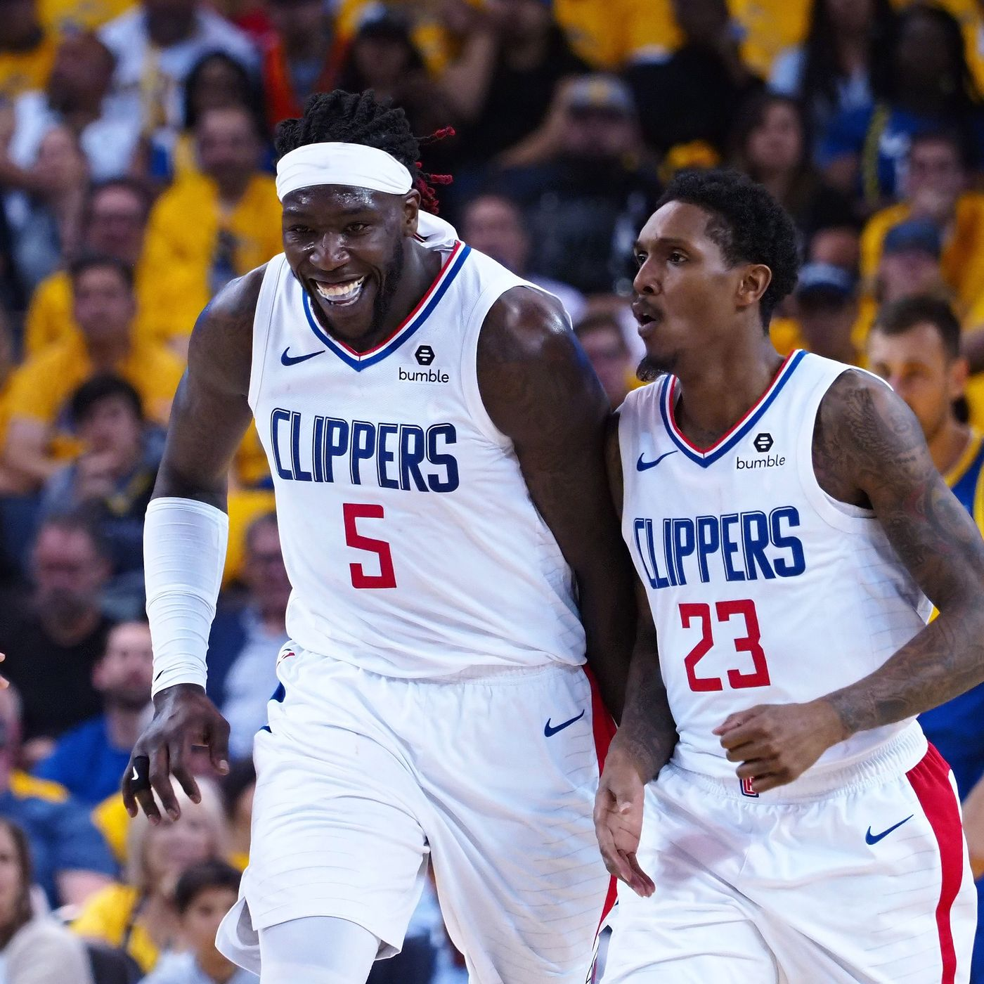 Lou Williams And Montrezl Harrell