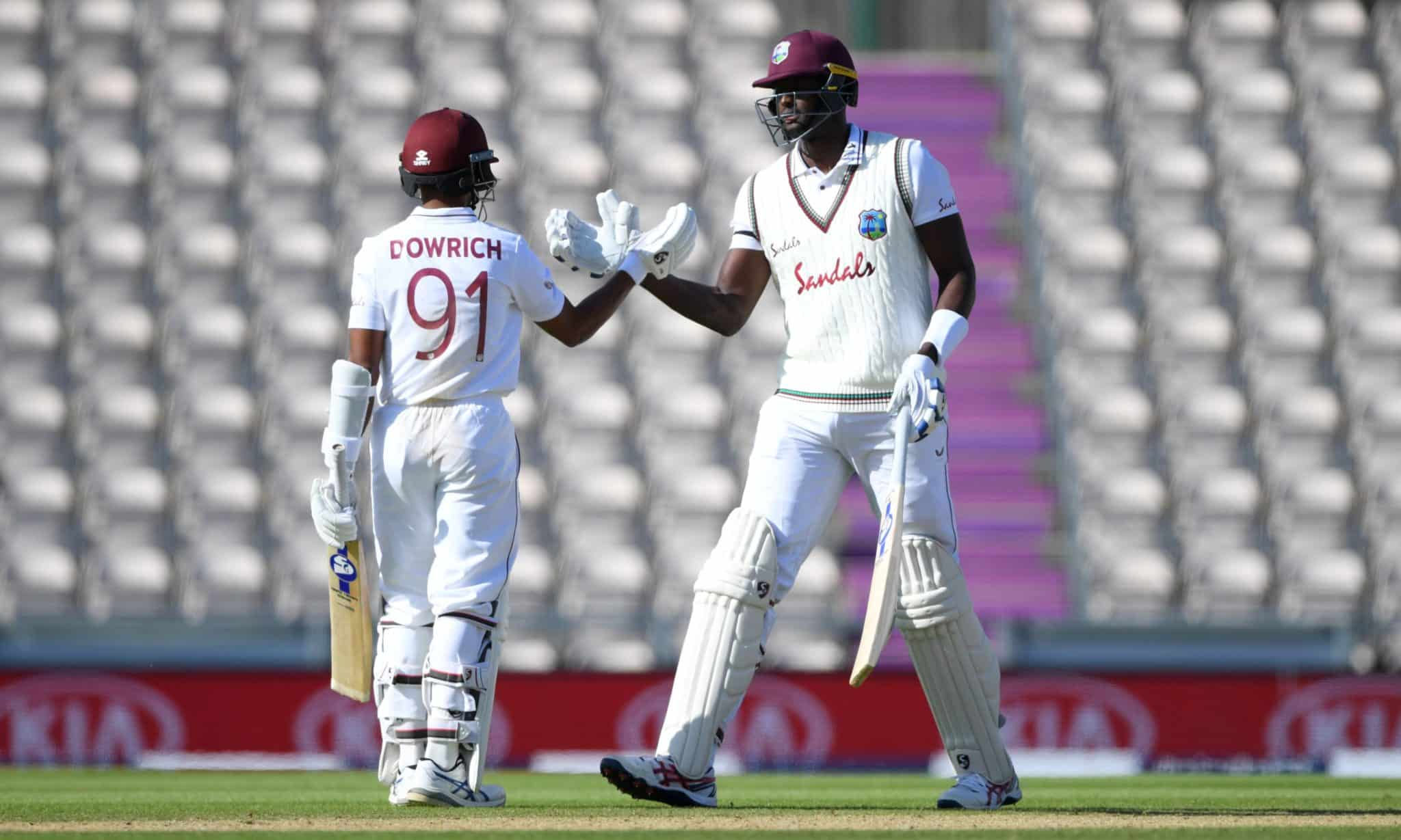 West Indies defeated by England