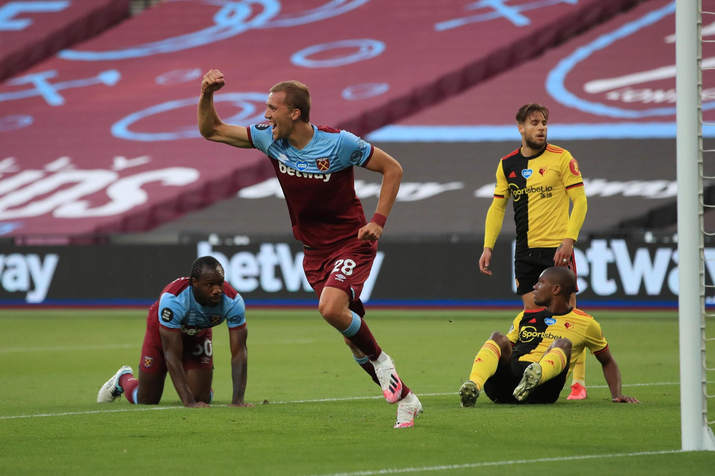 West Ham 3 -1 Watford