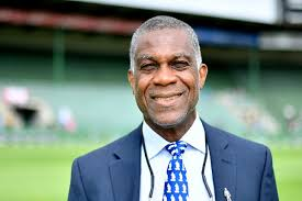 Michael Holding Flashes An Incredible Smile As He Gears Up For Commentary