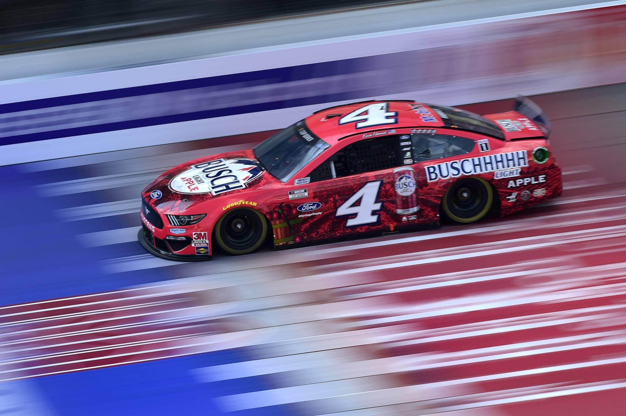 Kevin Harvick sweeps NASCAR's doubleheader at Michigan