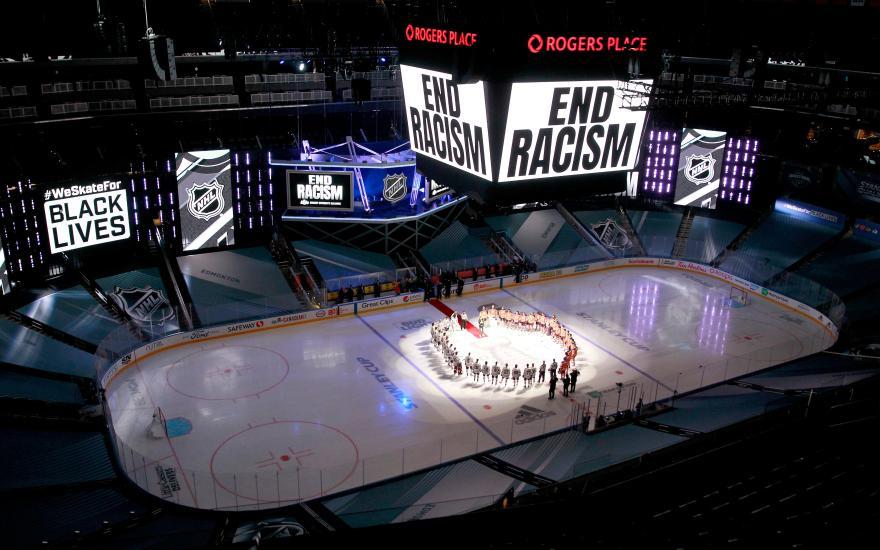 NHL BLM