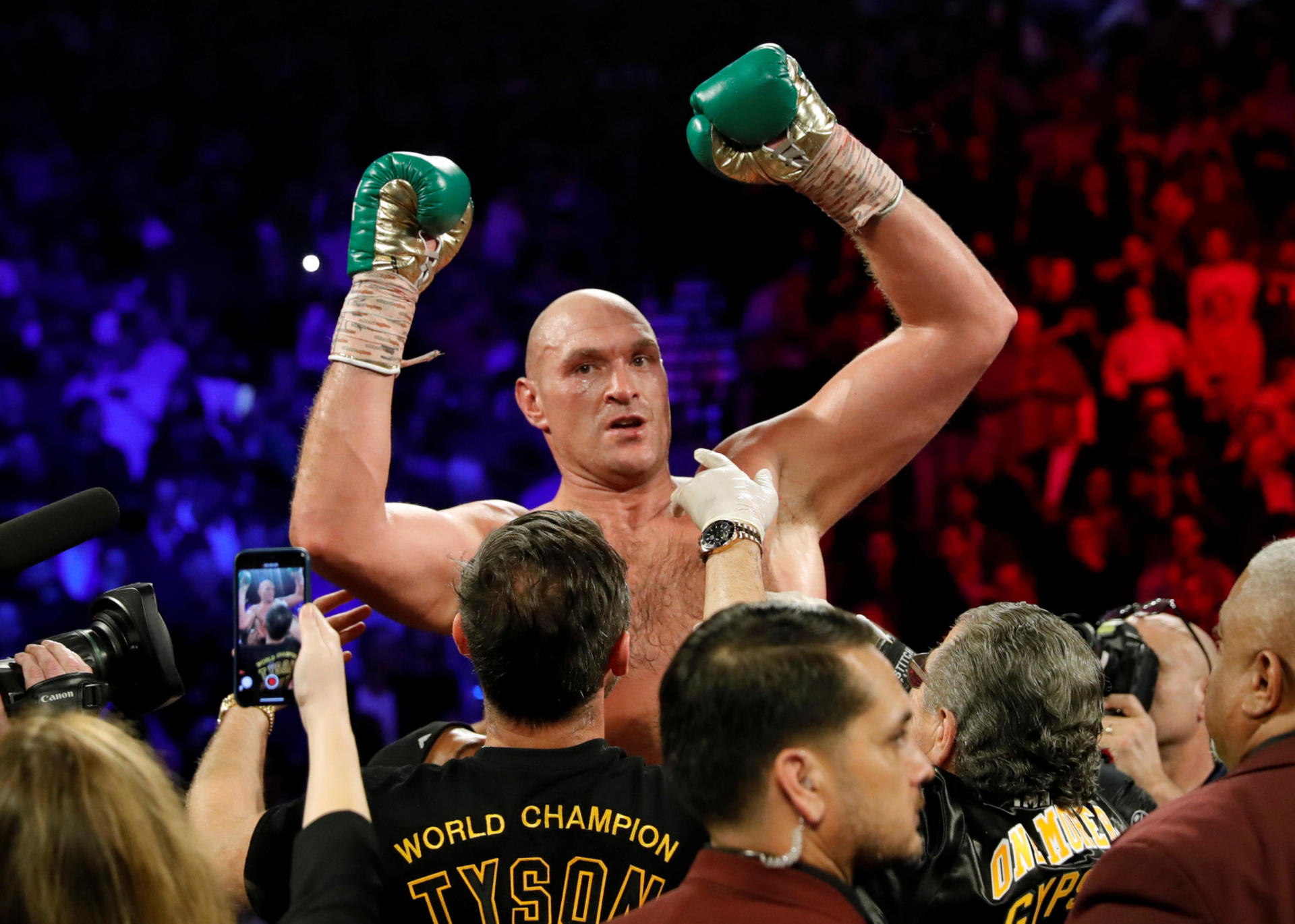Tyson Fury On The Brink Of Greatness