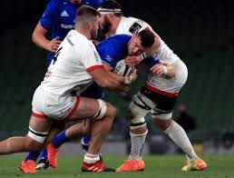 Rugby Player Getting Tackled