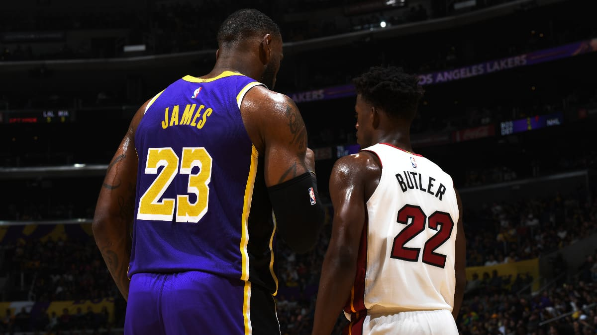 Finals Bound: Lebron James And Jimmy Butler