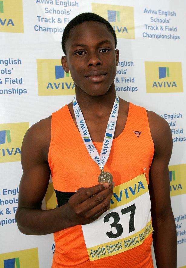 Maro Itoje Young High School Athletics