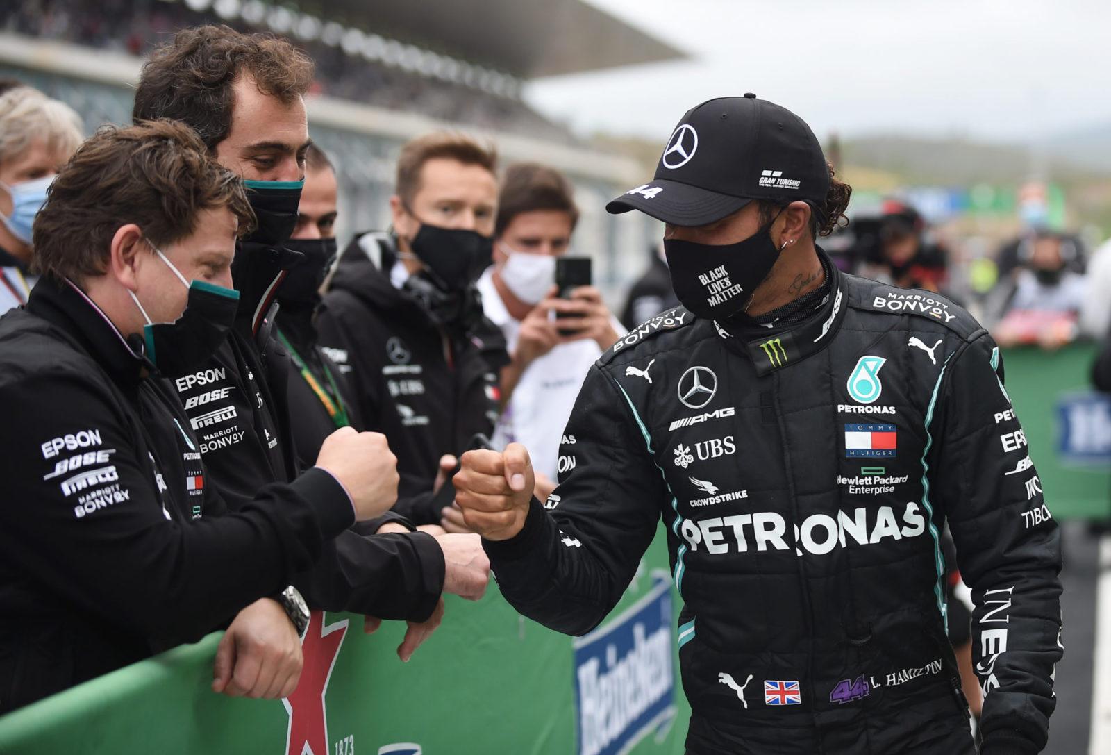 Lewis Hamilton Makes Grand Prix History In Portugal