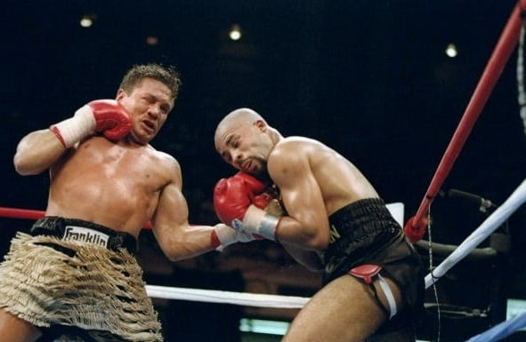 Lloyd Honeyghan Vs Vinny Pazienza