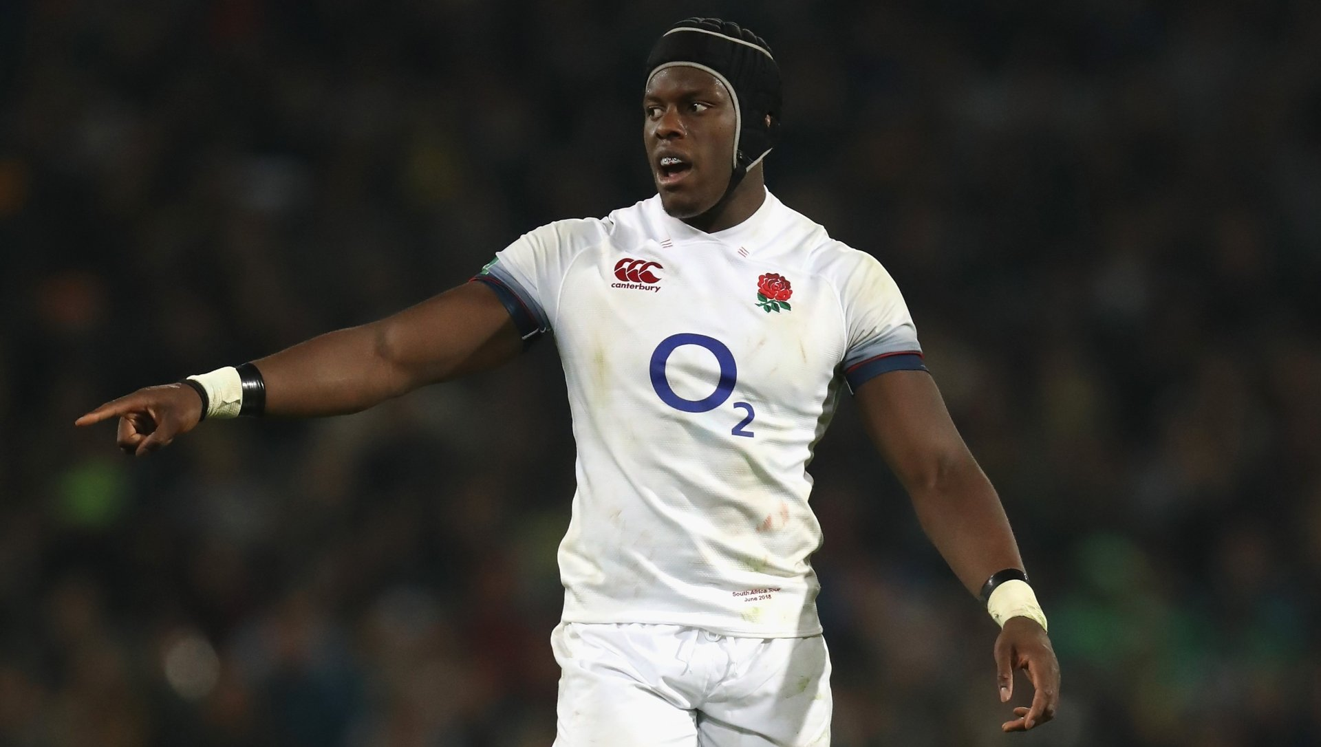 Maro Itoje Rugby Player