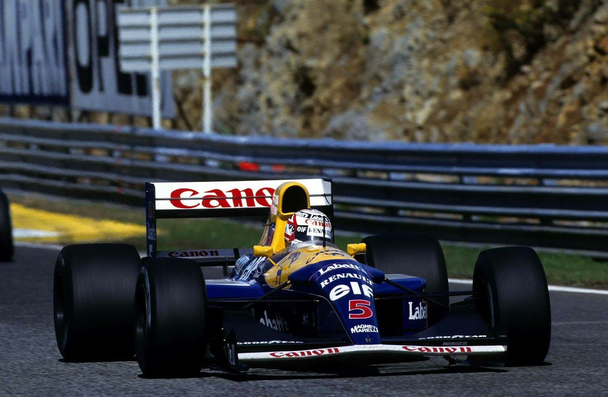Nigel Mansell - Portuguese Grand Prix. Estoril