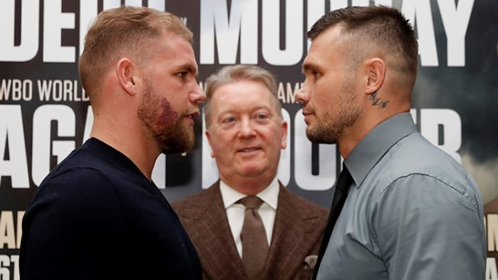Billy Joe Saunders Vs. Martin Murray