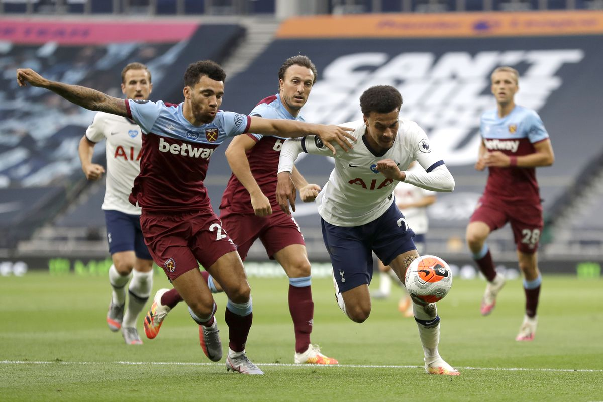 Spurs Quick Start Ambushed By Lanzini'S Hammer