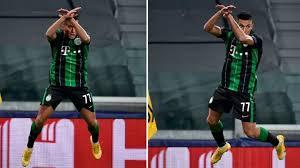 Uzuni Celebrates Ronaldo Style