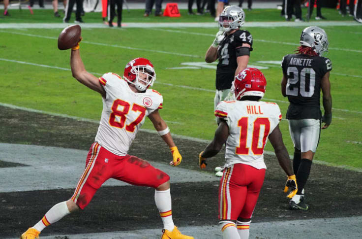 Travis Kelce Touchdown