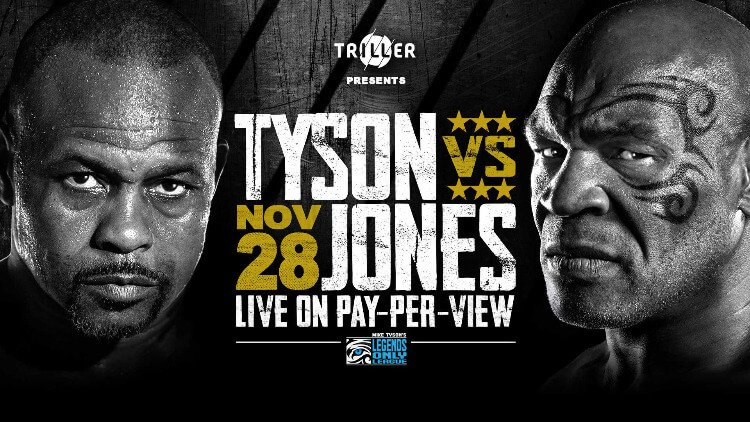 Mike Tyson Roy Jones Jr November 28 The Industry Cosign Big Ced