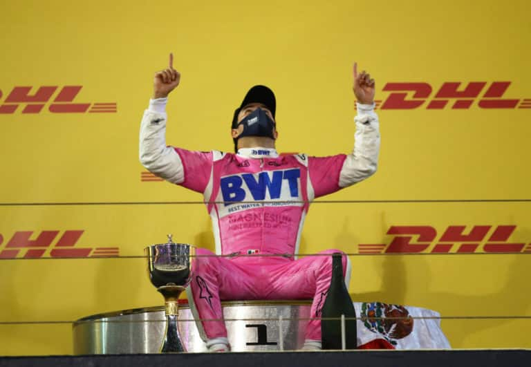 Perez First Win At Bahrain