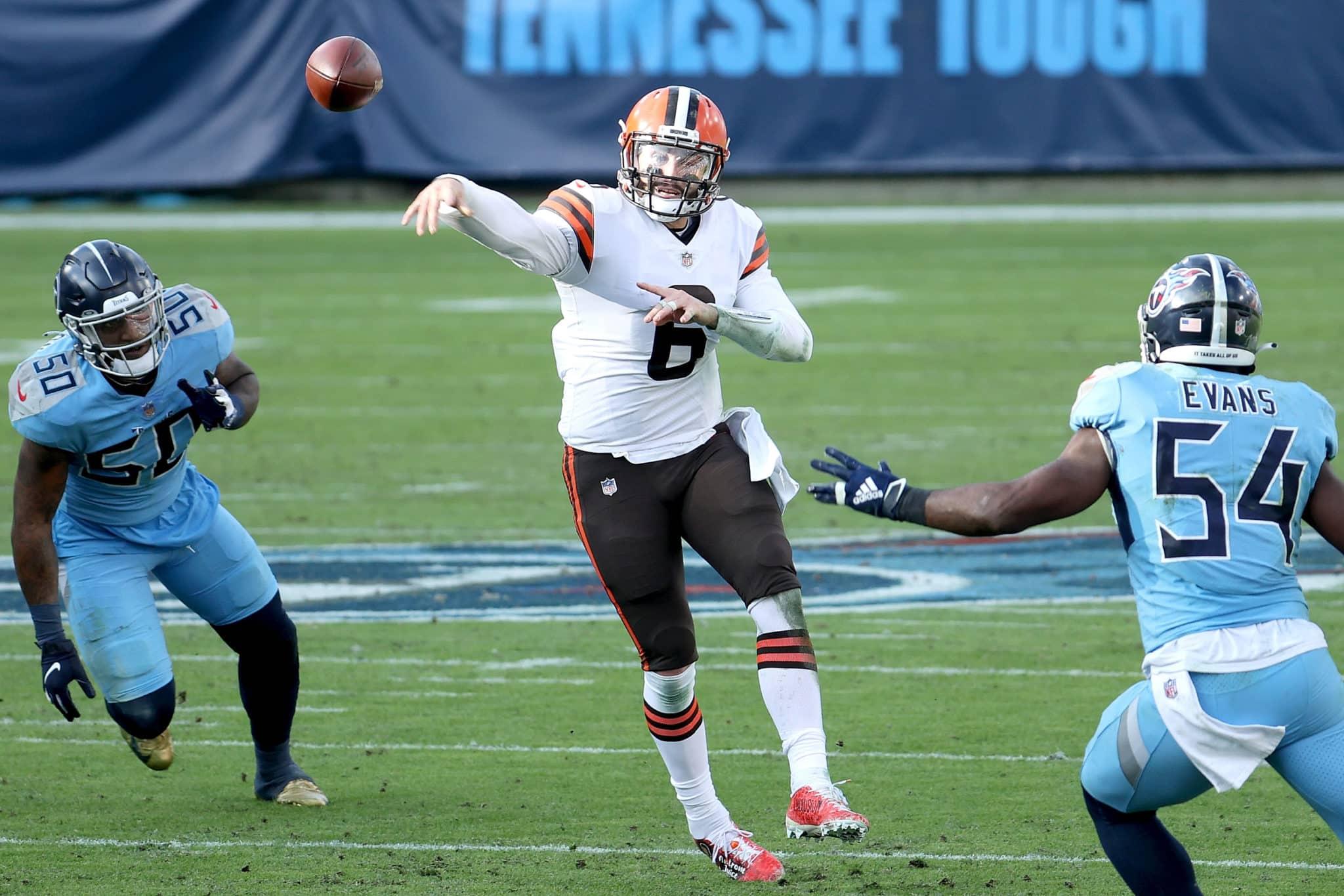 Baker Passes all over Titans defense