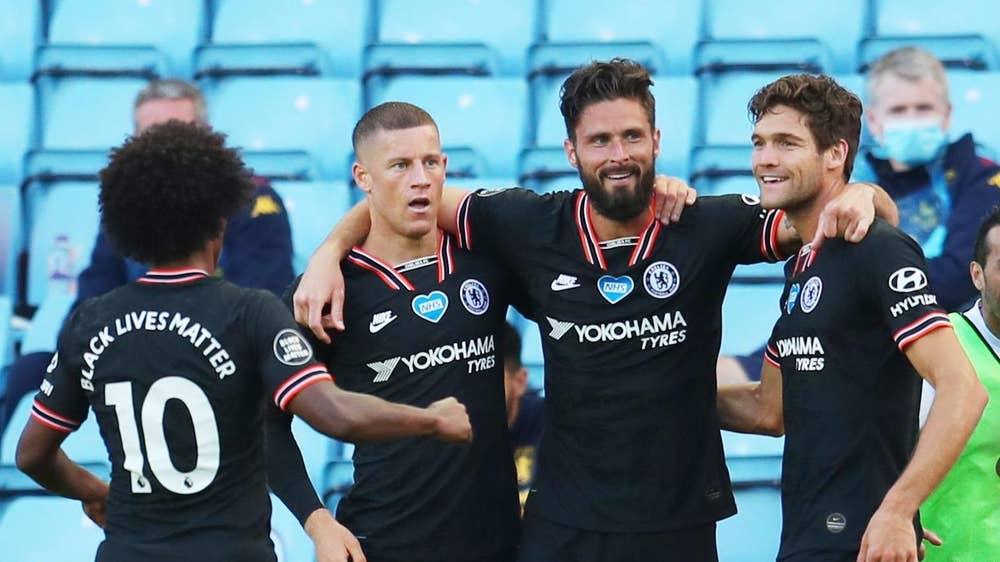 Chelsea 1 Aston Villa 1