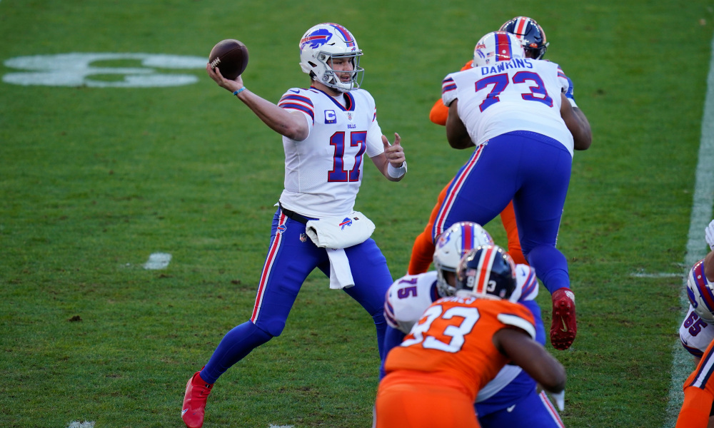 Josh Allen Leads The Bills To A Huge Victory