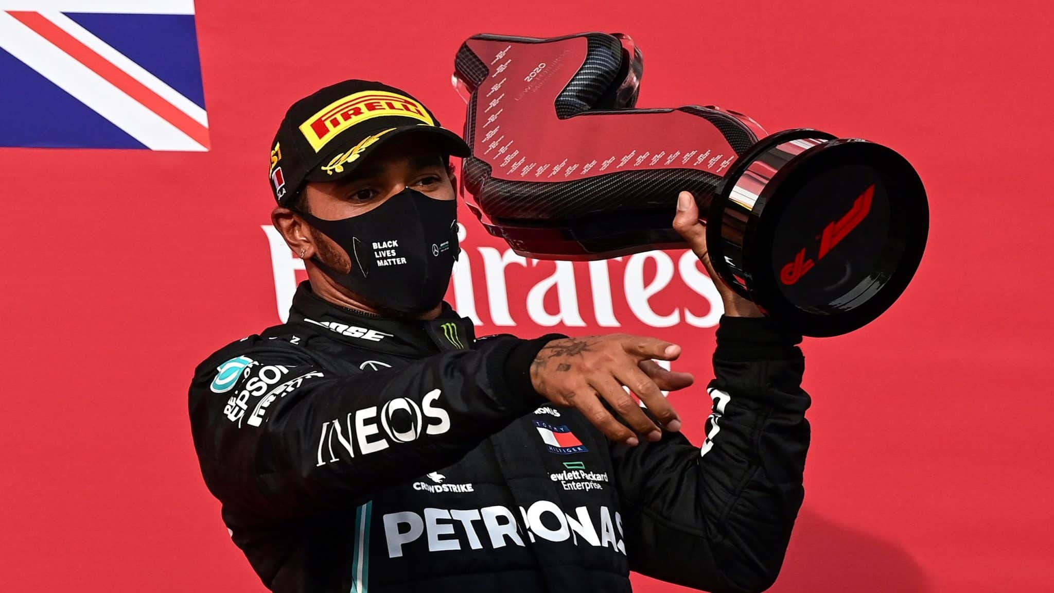 Lewis Hamilton Equaled Michael Schumacher'S Record Of 7 World Titles This Year