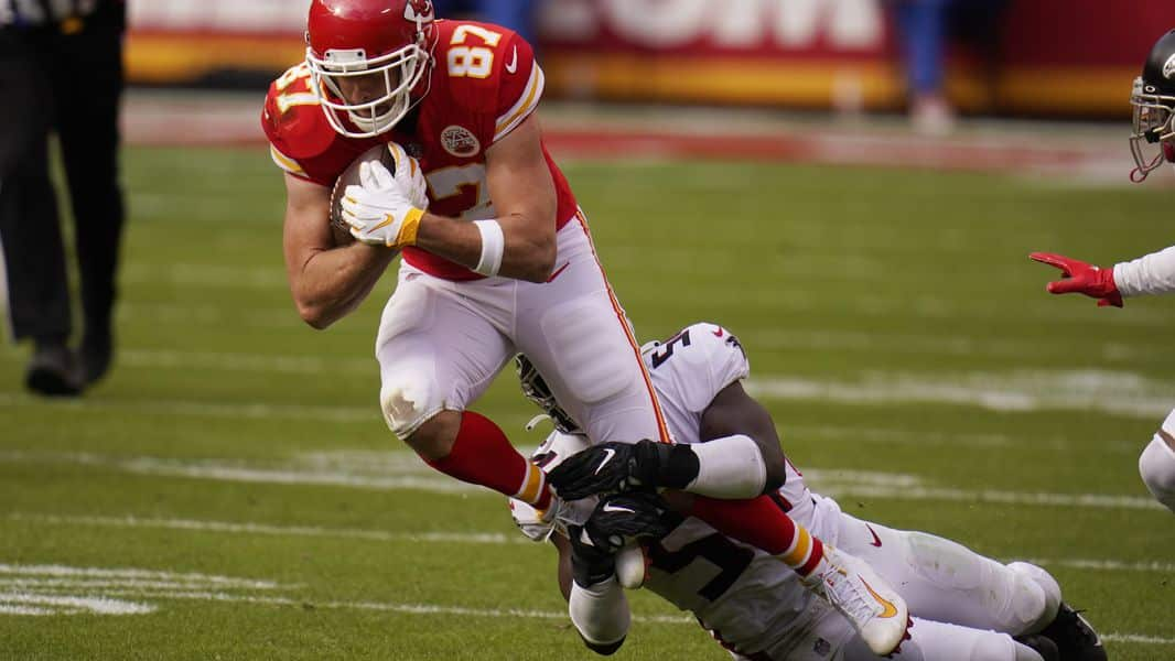 Kelce Sets Nfl Record