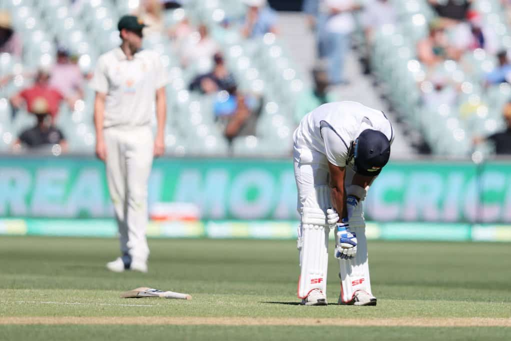 Mohammed Shami Injured His Forearm In The First Test
