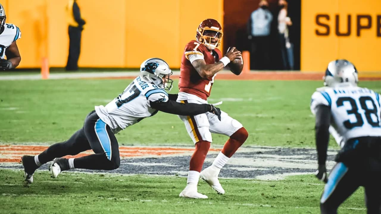 Yetur Gross Matos Collects One Of The Panthers Sacks