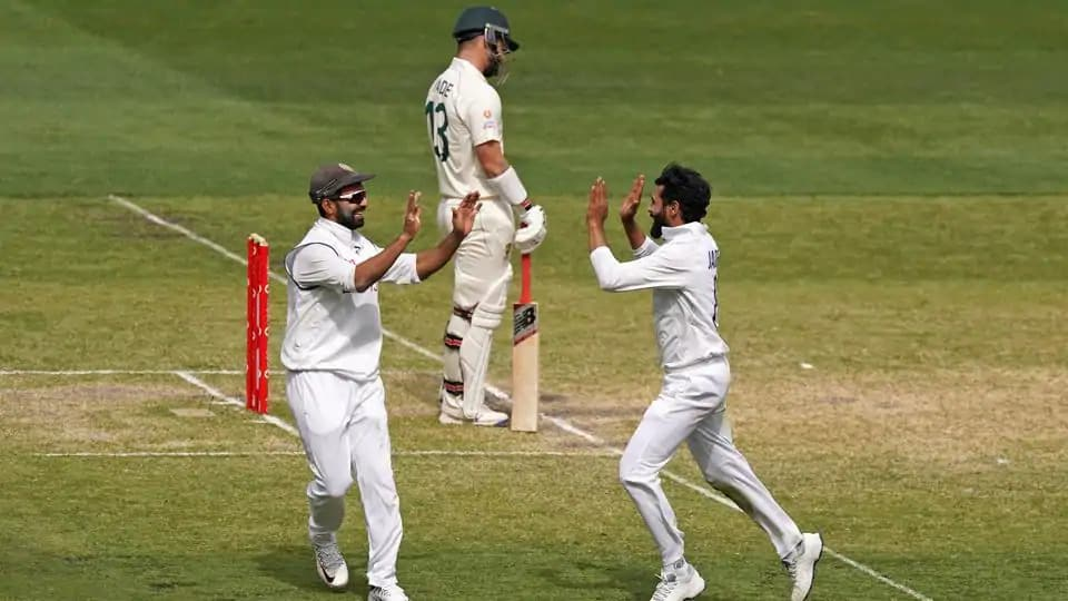 Jadeja Was Able To Get Rid Of Mathew Wade And Tim Paine