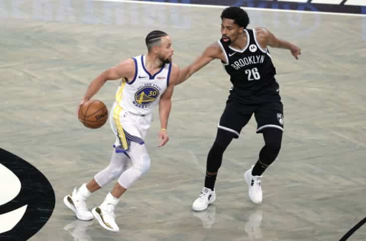 Golden State Warriors Vs Brooklyn Nets
