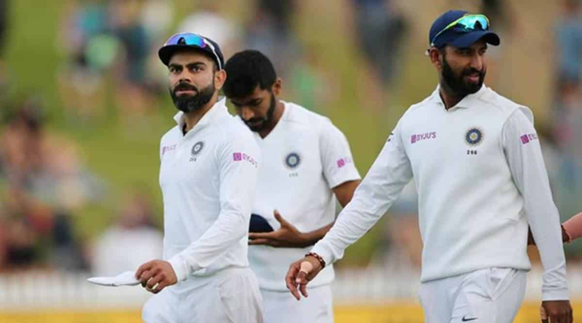 The Indian Team Collapsed In The Second Innings Of The First Test