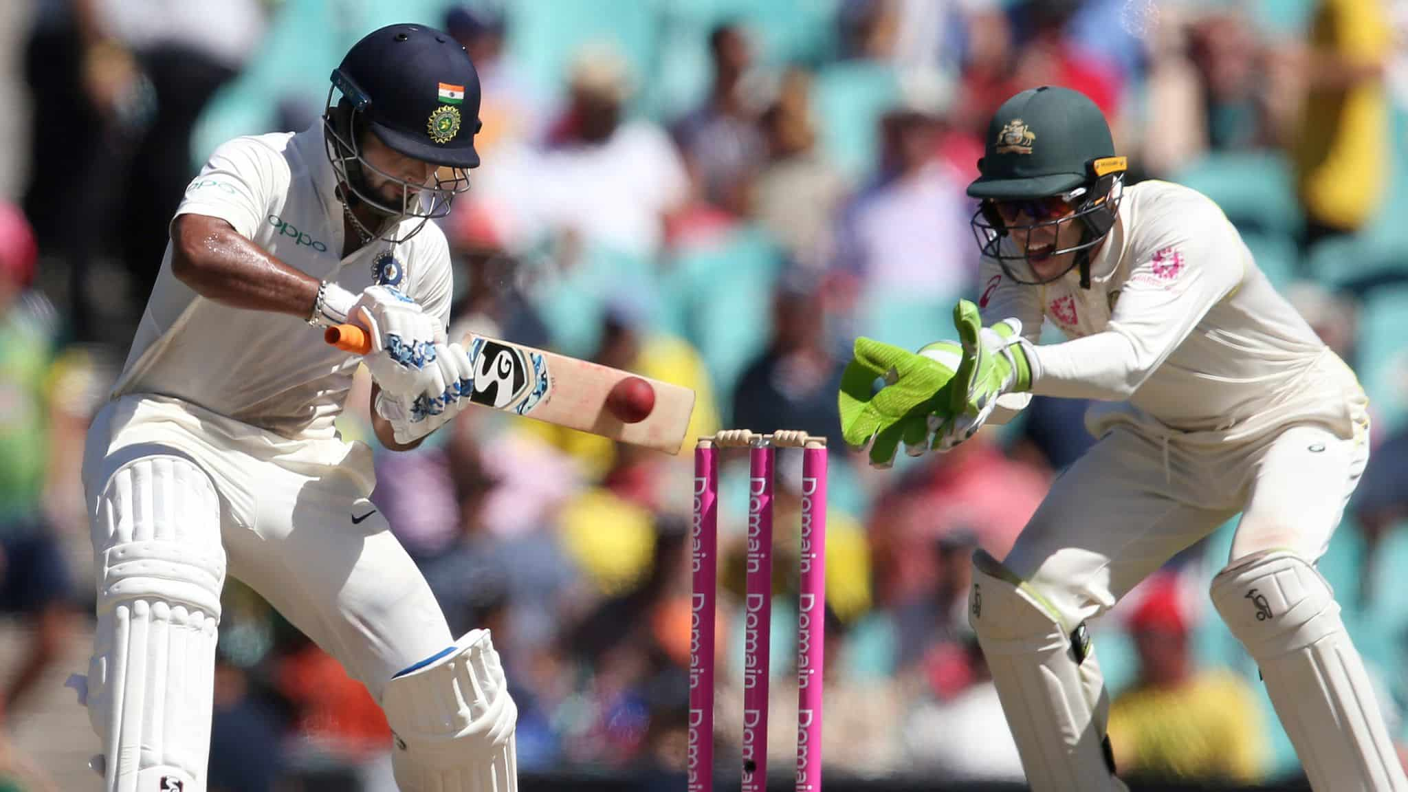 Pant And Jadeja Combine With Rahane To Take India Past The Australian Total
