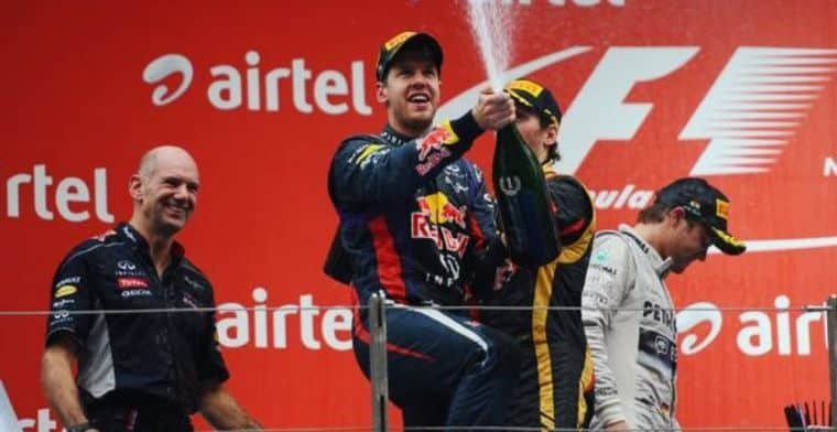 Sebastian Vettel During Happier Times