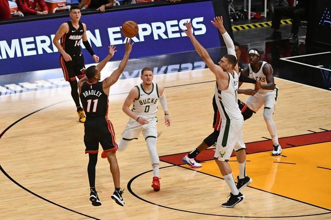 Avery Bradley Knocks Down A Three-Pointer For Miami