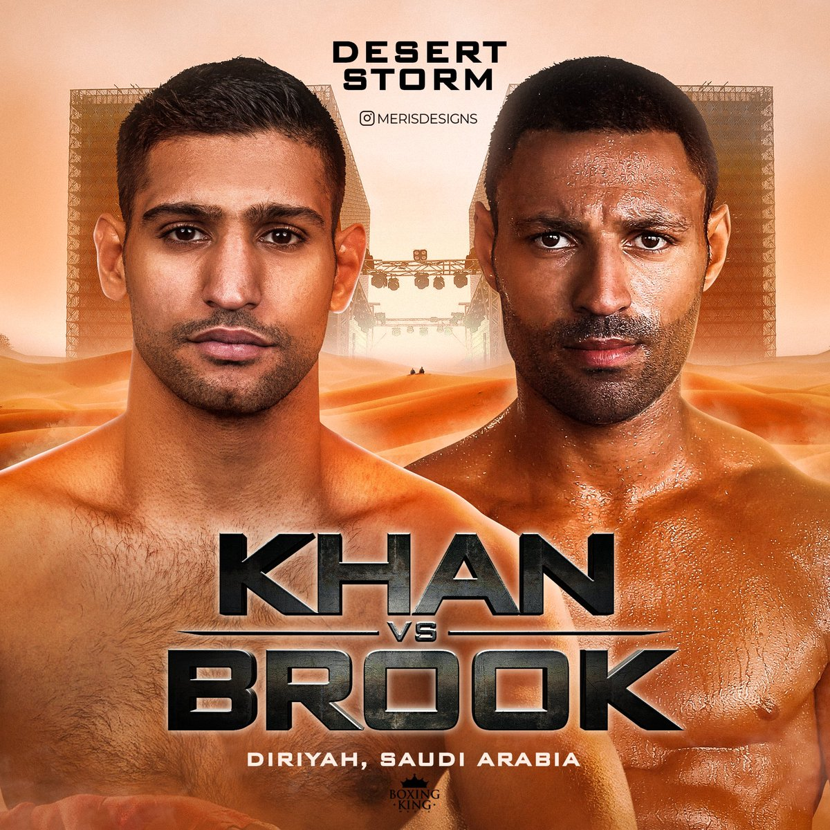 Amir Khan Vs Kell Brook