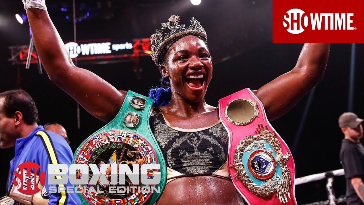 Claressa Shields Vs Marie Eve Dicaire Will Be For The Undisputed 154 Pound Titles 1