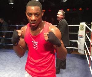 Dan Azeez Boxing As An Amateur