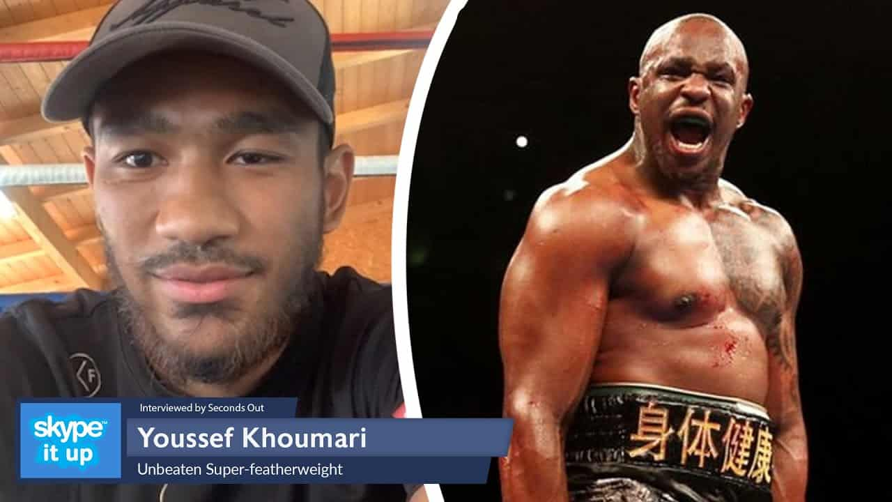 Dillain Whyte Managed Youssef Khoumari Gets Big Oppertunity On Povetkin Vs Whyte 2 Undercard.
