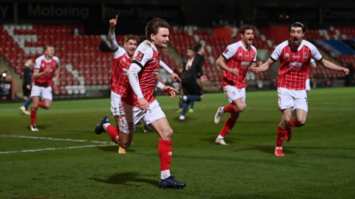 Holders Crash Out The Fa Cup, United Ko Reds, Chorley, Cheltenham, Crawley Bravely Bow Out